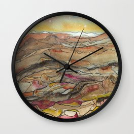 Rocky Top Wall Clock