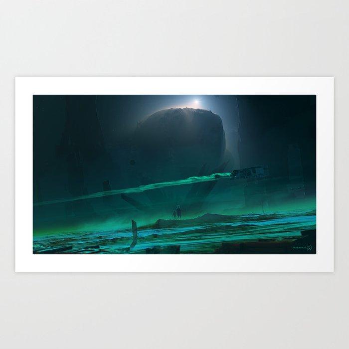 Void Sector 2.0 Art Print