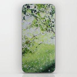 White Spring iPhone Skin