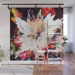 Floral Explosion Wall Mural