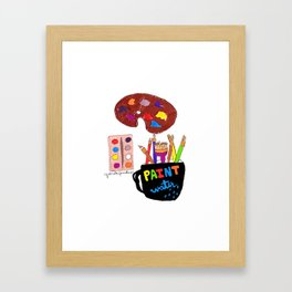 Artist Tools Framed Art Print