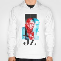 jay z Hoodies featuring JAY-Z by michael pfister
