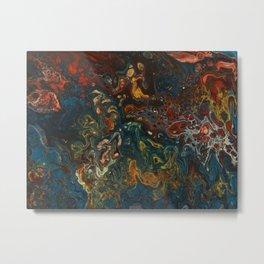 Flower Child - An Abstract Piece Metal Print