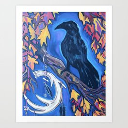 The Raven's Alter Art Print
