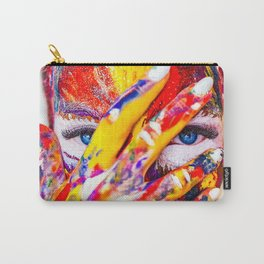 Digital Painting Art   colors   HD Designs Carry-All Pouch