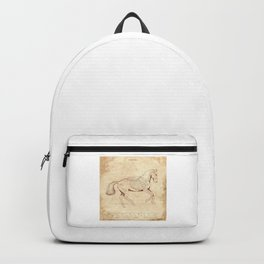 Da Vinci Horse: Canter Backpack