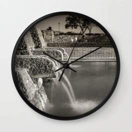 Fontaine Wall Clock