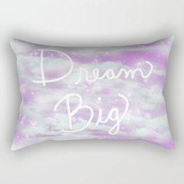 Dream Big - Lavender  Rectangular Pillow
