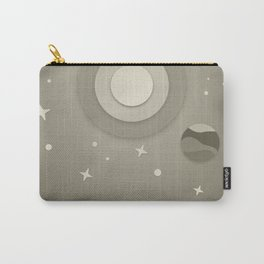 Night Sky Illustraion Carry-All Pouch