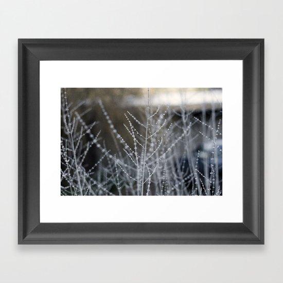 Oregon (thin) Framed Art Print