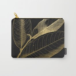 The golden leaf Carry-All Pouch
