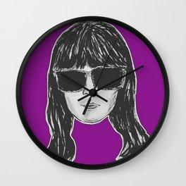 (Girl Boss - Britt Robertson) - yks by ofs珊 Wall Clock