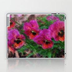 Pansies Painting Laptop & iPad Skin