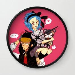 Gajeel x Levy Wall Clock