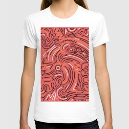 squiggle wiggles 005 T-shirt