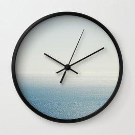 Ocean Horizon Diamonds Wall Clock