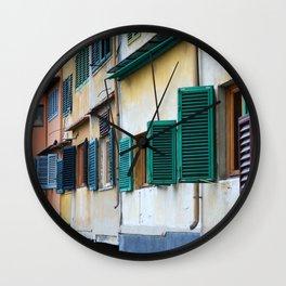 Ponte Vecchio Wall Clock