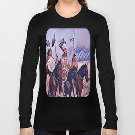 Native American Indian Chief Long Sleeve T-shirt