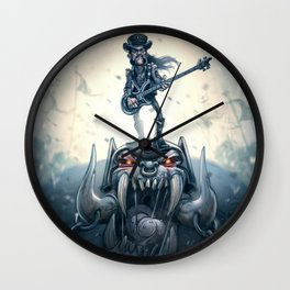 March or die Wall Clock