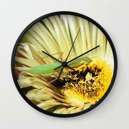 Praying Mantis Wall Clock