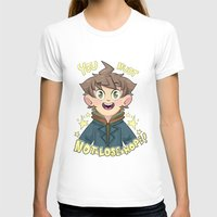 dangan ronpa T-shirts featuring mokoto naegi- you must not lose hope shirt by zamii070