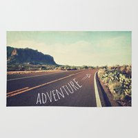 adventure Area & Throw Rugs featuring adventure by Sylvia Cook Photography