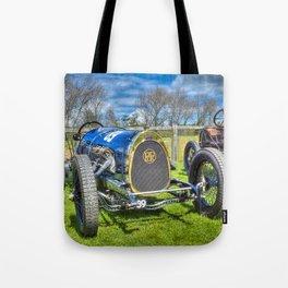 Pic-Pic Vintage Racing Car Tote Bag