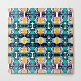 Kandy pattern Metal Print