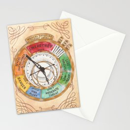 Magical Exposure Threat Level Stationery Cards