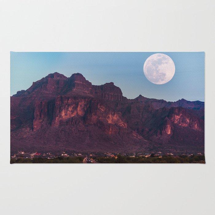 Super Blue Moon over Arizona #society6 #decor #buyart Rug
