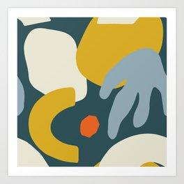 Modern Art Autumn MATP7 Art Print