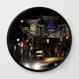 Ottawa's Chinatown Wall Clock