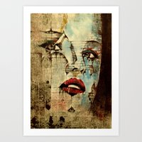Fading Within Walls Art Print