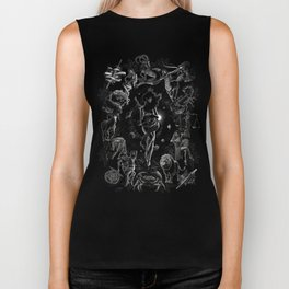 XXI. The World Tarot Card Illustration Biker Tank