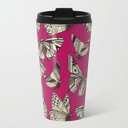 summer butterflies pink Travel Mug