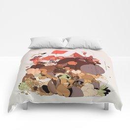 organic infographics Comforters