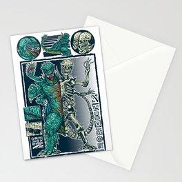 Kaiju Monster Stationery Cards