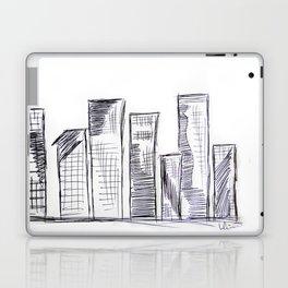 The City - Original Pen Ink Sketch Laptop & iPad Skin