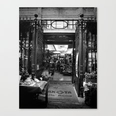 Welcome to Cafe Roma Canvas Print