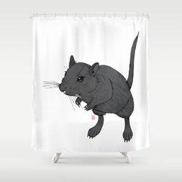 Gerbil Off Shower Curtain