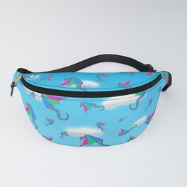 Fly With Pride, Dragon Series - Polysexual Fanny Pack