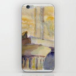 Doric column iPhone Skin