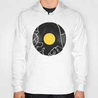 500 days of summer Hoodies featuring (500) Days of Summer by Bill Pyle