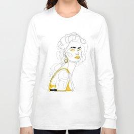 In Lemon Long Sleeve T-shirt