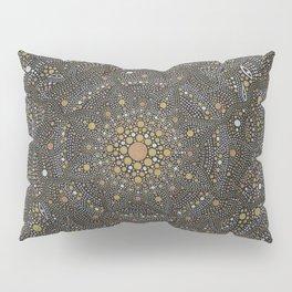 Cosmic Breath - Dot Mandala Pillow Sham