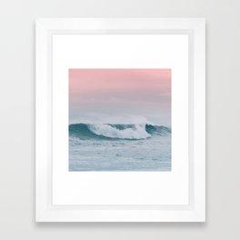 Pale ocean Framed Art Print