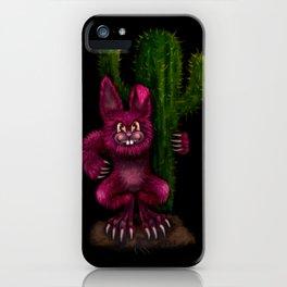 Desert Bunny iPhone Case