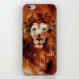 WATERCOLOR KING iPhone Skin
