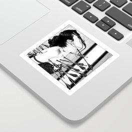 asc 778 - La lione blessée (Love is a killer) Sticker