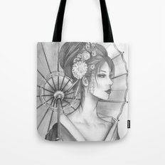 Elegant Oriental Japanese Geisha by Ashley Rose Standish Tote Bag